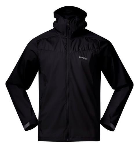 Vindjakke til herre Bergans Microlight Jacket M XL Black