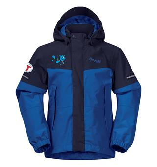 Turbojakke 104/110 Bergans Lilletind Jacket Kid