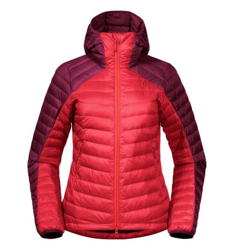 Dunjakke til dame XL Bergans Røros Down Light Jacket W XL Lig