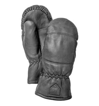 Skinnvott Hestra Leather Box Mitt 100