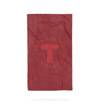 Turhåndkle Bubel Towel Medium DNT Red