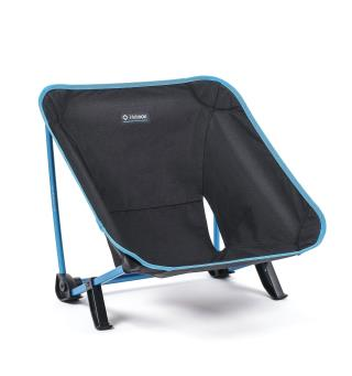 Veldig lav turstol Helinox Incline Festival Chair BlackBlue