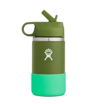 Termoflaske til barn Hydro Flask 12oz Kids Wide Olive