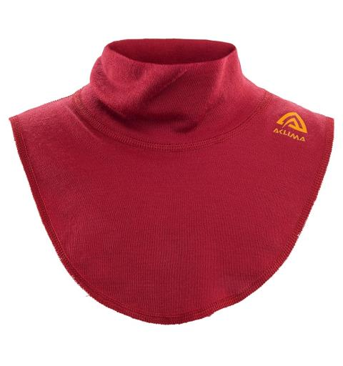 Hals til barn Aclima Warmwool Neck Kid L Chili Pepper