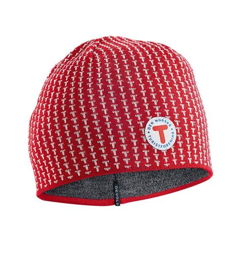 DNT-lue Devold T-Beanie DNT Red