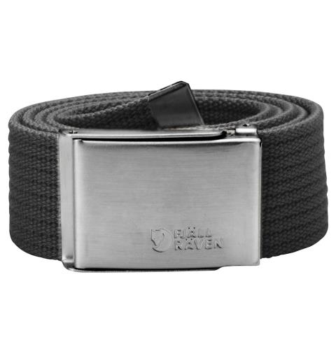 Belte Fjällräven Canvas Belt Dark Grey