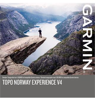 GPS-kart over Norge Garmin Topo Norway Experience v4