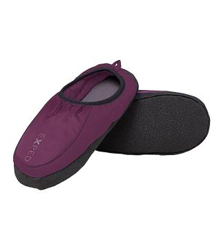 Turtøffel Exped Camp Slippers L Dark Violet