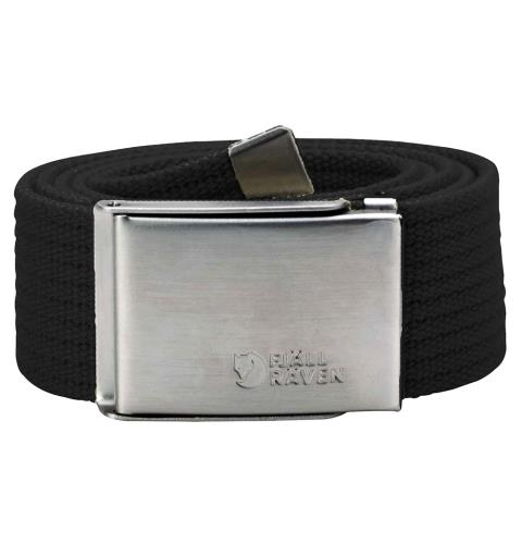 Belte Fjällräven Canvas Belt Black